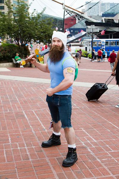 Epic Beard Finn (Adventure Time)