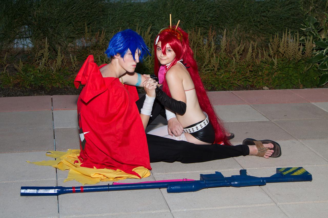 Kamina & Yoko (Gurren Lagann)