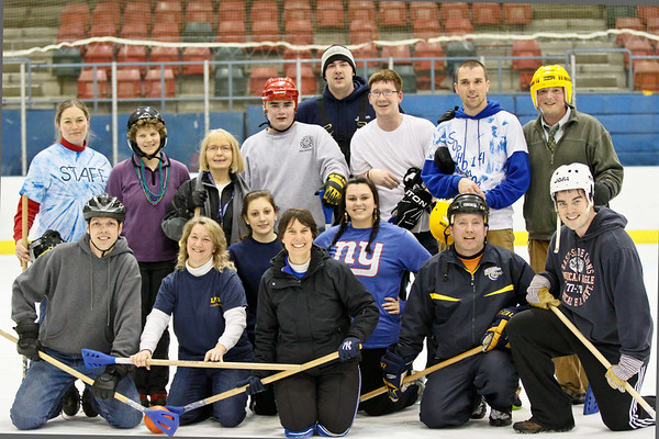 2012 Lake Placid Winter Carnival-Faculty/Alum group photo