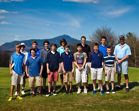 2013 Golf Team