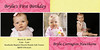 pink and yellow 3 photo card 4x8