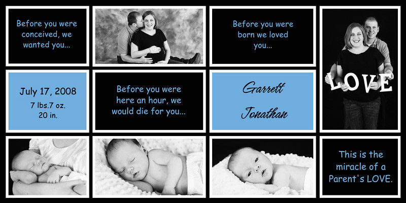 """4x8 card """"before you were born""""  .85 each card (set of 25)"""