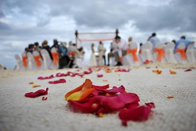 Wedding in Cancun.