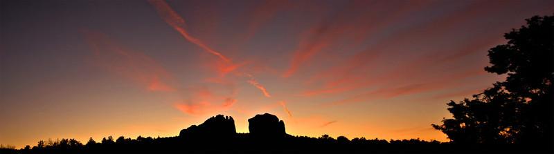 Sunset over Sedona.