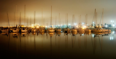 Watched a fog bank roll in from the other side of this bay in Corpus Christi.  As I drove over I took this wonderful reflection shot.