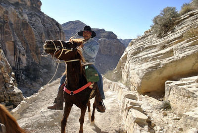 This is one of the last places in the US where mail is still carried by horseback.  On my way deep into the Grand Canyon to the town of Supai, Havasu Falls and Mooney Falls.