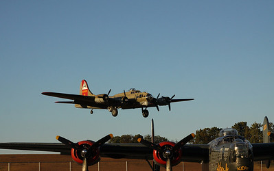 B-24- B-17 P-51- 10-10-12  -Thomasville Airport