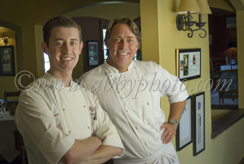 Chefs Eric Loos & John Besh
