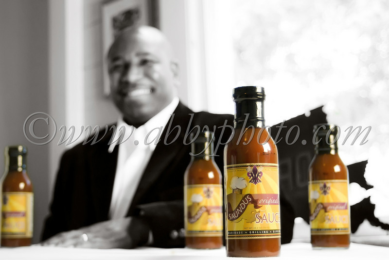 Saundus Kelly and his Saundus Sauce