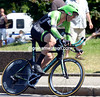 Lars Boom wore his long black socks to good effect, taking 6th at 12-seconds...