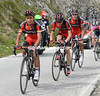 Darwin Atapuma paces a distraught Van Garderen to the finish...
