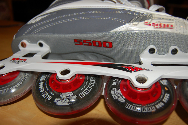 my new rollerblades
