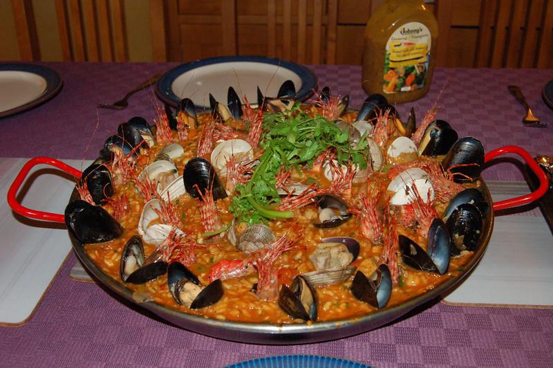 paella... nuff said.