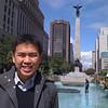 Me at some Toronto landmark