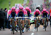 "Lampre-Merida took 18th place, 1' 20"" down..."