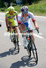 Marco Bandiera and Andrea Fedi have ridden away unchallenged in the first kilometre....
