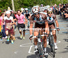 In the favourites' group, Vuillermoz pushes hard for Ag2R - and for Pozzovivo..!