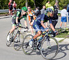 Quintana chases Aru with Rolland hanging on - but they won't catch the fleeing Sardinian..!