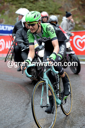 "Kelderman will finish the stage 3' 32"" behind Quintana..."