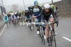 Tom Stamsnijder takes over the chasing for Giant-Shimano...