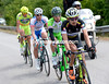 A four-man escape has got away representing the four smallest teams in the Giro...Roberto Torres leads the way.