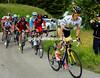 Rafal Majka ignites the racing with five-kilometres to go - they're one minute behind Arredondo...