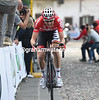 Tim Wellens has attacked on the stoney road to Bergamo Alta..!