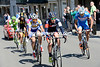 Pirmin Lang takes the escape through the town of Roche-en-Ardennes