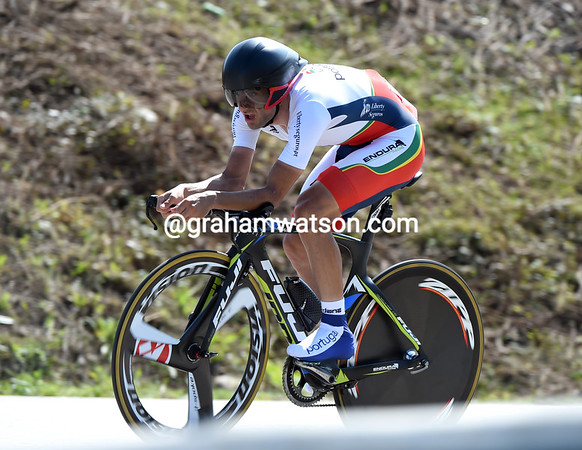 "Tiago Machado took Portugal into 11th place, 1' 52.37"" down..."