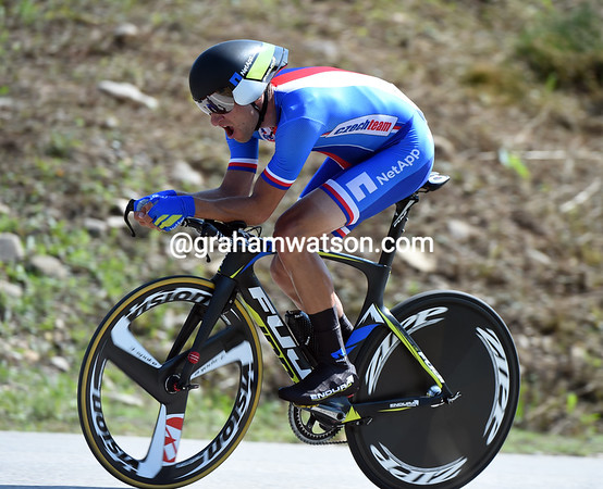 """Jan Barta took the Czech Republic into 9th place, 1' 43.41"""" down..."""