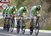 "Cannondale raced to 9th, 1' 28.56"" down in their last-ever TTT..."