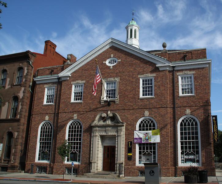 Martin Memorial Library.