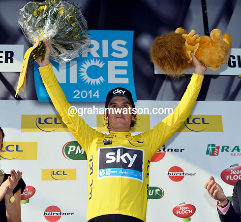 Geraint Thomas is still race-leader on the eve of the race's toughest stages...