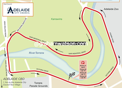 Peoples' Choice Classic, Adelaide City Circuit, 50kms