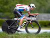 Cool dude - Lachlan Morton knows how to warm-up the right way for a TT..!
