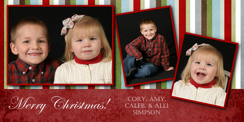 candy cane card 4x8 .85 ea for 25 or more