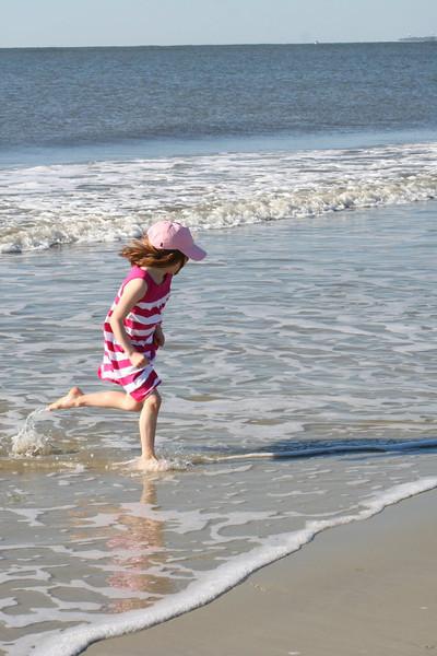 St. Simons part 1: beach and Savannah