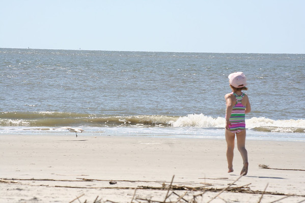 St. Simons part 2: Monday at the beach
