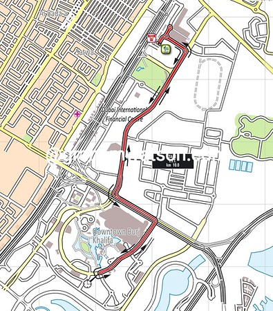 Tour of Dubai Stage 1: Dubai > Dubai, 10kms (TT)