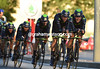 Movistar started last and finished first, winning by six-seconds..!
