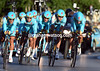 Team Astana took Fabio Aru to 13th place, also 30-seconds down...