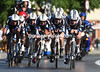 Giant-Shimano looked good with their 6th place, sixteen seconds down...