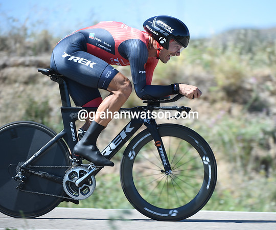 Fabian Cancellara took 3rd today, 18-seconds down on his greatest rival...