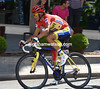 Alberto Contador is by far the favourite to with the Vuelta overall...