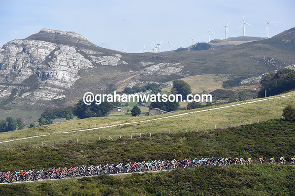 The Vuelta is now in Cantabria, one of Spain's most beautiful regions...