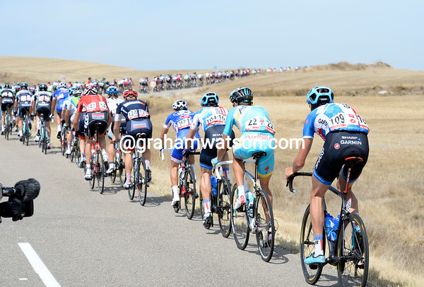 When it's Johan Van Summeren struggling to stay in contact, you just know this is a fast start to the day..!
