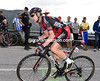 Cadel Evans nears the finish with a loss of almost 29-minutes today, yet the Australian seems comfortable enough with his status in the Vuelta