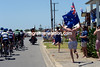This being Australia Day weekend, a few locals cannot help flying the flag...