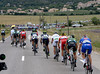 The cross-winds have suddenly begun to split the weaker riders away from the stronger ones...