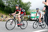 Tejay Van Garderen and Thibaut Pinot are locked in a battle with each other...